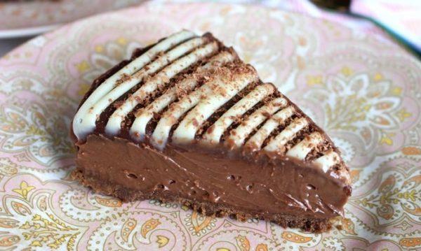 Receita de cheesecake de Nutella que não vai ao forno