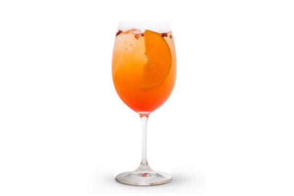 Orange glam